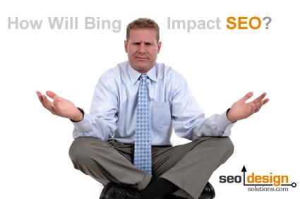 Google, Bing and SEO...