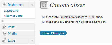 wordpress-canonicalizer-panel