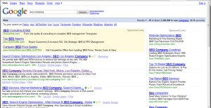 After 2 Years we are #2 for the Term SEO Company in Google