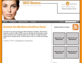 Download The SEO Basics WordPress Theme for FREE