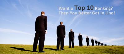 Competitive SEO Rankings Take Time
