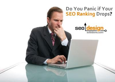 Do You Panic If Organic Rankings Drop?