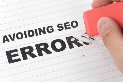 Avoiding SEO Errors